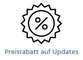 Preisrabatt auf Updates