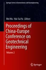 Proceedings of China-Europe Conference on Geotechnical ...