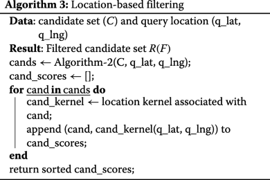 Metadata filtering for user-friendly centralized biometric