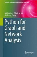 Python for Graph and Network Analysis | springerprofessional de