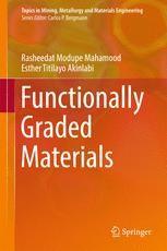 Functionally Graded Materials 1996