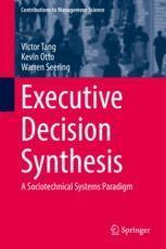 Introducing Executive Management Decisions Springerprofessional De