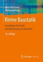 Kleine baustatik for Baustatik buch