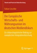 Der Zweite Diskursausschnitt 19911993 Vertrag Von Maastricht