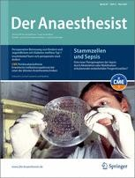 der anaesthesist journal Abbreviation: anaesthesist issn: 0003-2417 (print) 1432-055x (electronic) 0003-2417 (linking).