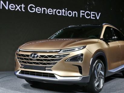 Hyundai Reveals New Fuel Cell Suv