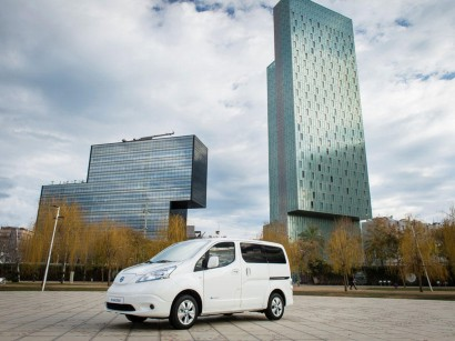 9dd014755575cd The Nissan e-NV200 Gets 40 kWh Battery