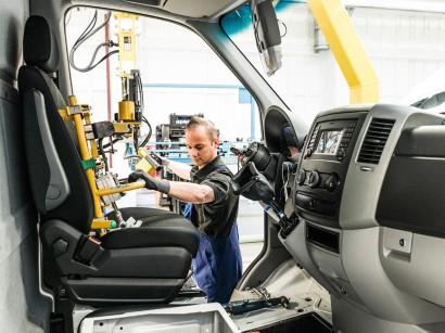 Automobilproduktion | Daimler setzt bei Van-Produktion auf neue ...