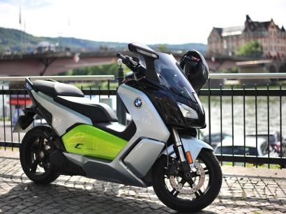 Testbericht Elektro Roller Bmw C Evolution Lr Springerprofessionalde