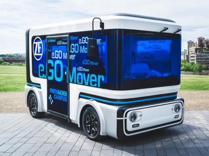 Carsharing   Transdev bestellt den autonomen Kleinbus e Go