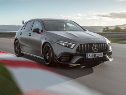 Automotive Engineering The Mercedes Amg A 45 4matic And
