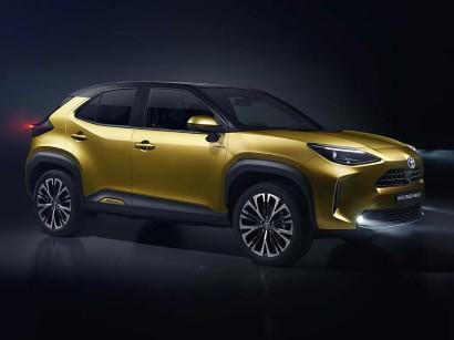 Sport Utility Vehicle Toyota Bringt 2021 Das Kleine Suv Yaris