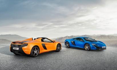automobil + motoren | mclaren 650s spider und 650s coupé debütieren