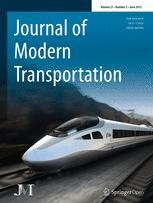 Journal of Modern Transportation - SpringerOpen