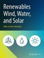 Renewables: Wind, Water, and Sola - SpringerOpen