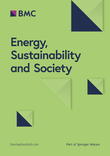 Energy, Sustainability and Society