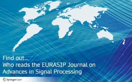 Who reads the EURASIP Journal on Advances in Signal Processing