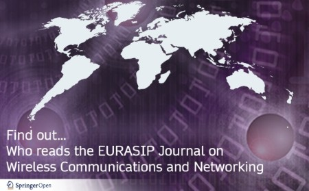 Who reads the EURASIP Journal on Wireless Communications and Networking