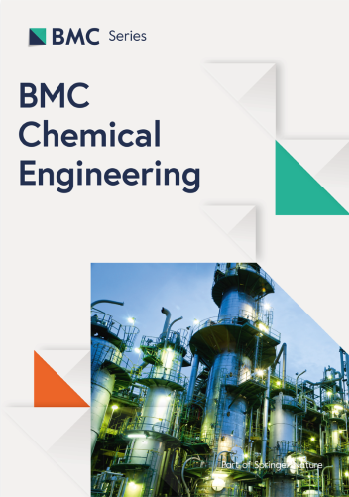 BMC Chemical Engineering cover