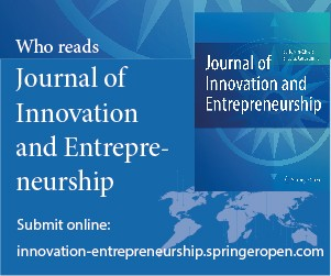 Journal of Innovation and Entrepreneurship | Home page