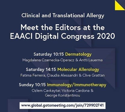 EAACI 2020 MTE sessons