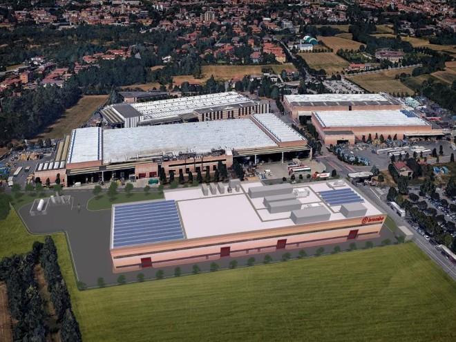 In Curno entsteht bis Ende 2018 ein Carbonwerk von Brembo für den Rennsport.