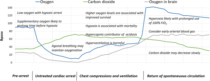 Oxygen and carbon dioxide targets during and after resuscitation ...