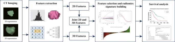 Development of a radiomics nomogram based on the 2D and 3D CT ...