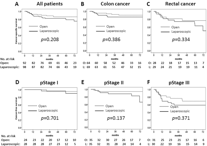 Long Term Results Of A Randomized Study Comparing Open Surgery And Laparoscopic Surgery In Elderly Colorectal Cancer Patients Eld Lap Study Springerlink