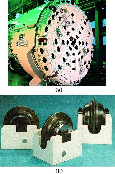 Discrete/Finite Element Modelling of Rock Cutting with a TBM Disc ...