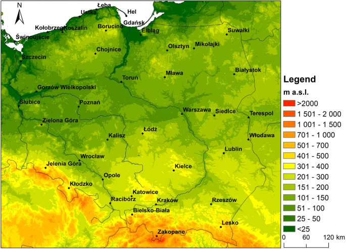 Occurrence of strong and very strong heat stress in Poland and its ...