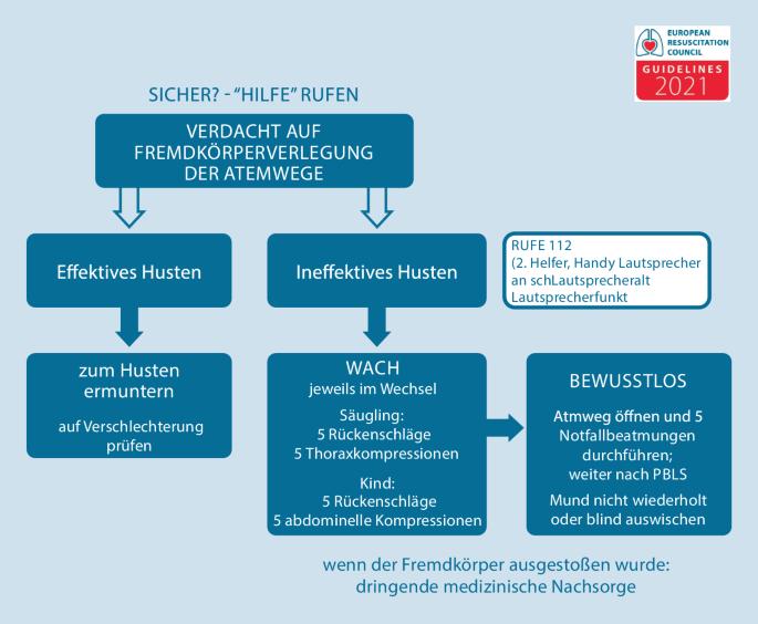 Lebensrettende Manahmen bei Kindern (Paediatric Life Support, PLS ...