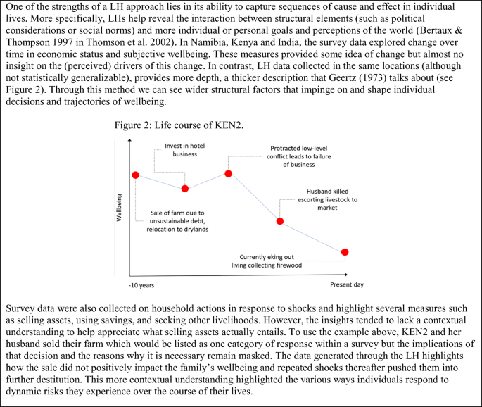 Exploring methodological approaches to assess climate change ...