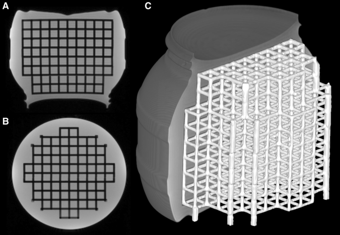 Measuring geometric accuracy in magnetic resonance imaging with 3D ...