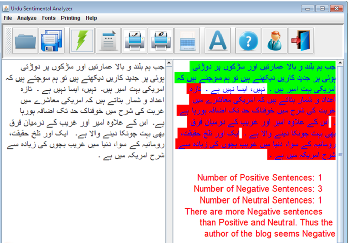 Effective Lexicon Based Approach For Urdu Sentiment Analysis Springerlink