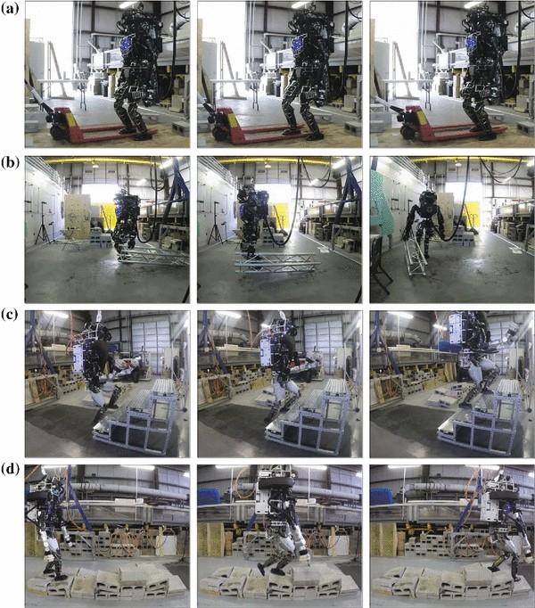 Optimization-based locomotion planning, estimation, and control ...