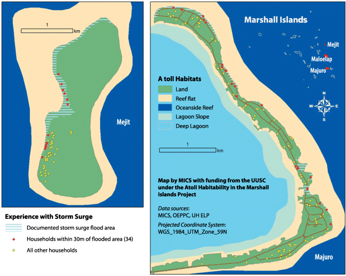Climate change, ecosystem services and migration in the Marshall ...