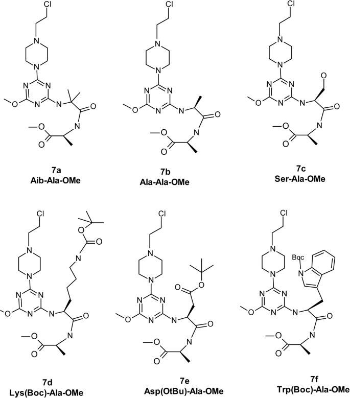 Synthesis and cellular effects of novel 1,3,5-triazine derivatives ...
