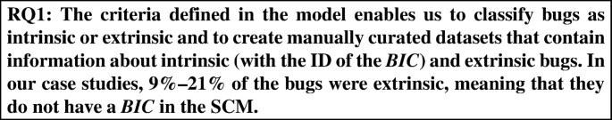 How bugs are born: a model to identify how bugs are introduced in ...