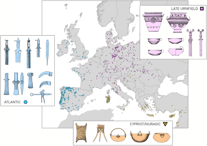 Establishing the Middle Sea: The Late Bronze Age of Mediterranean ...