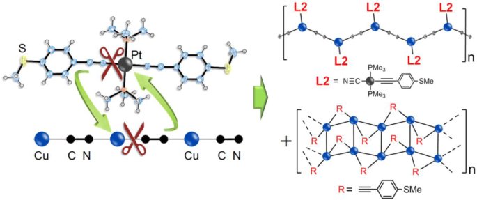 Reactivity Of The Trans Pt Pme 3 2 C Cc 6 H 4 Sme 2 Ligand With Copper Cyanide Formation Of The Cu 2 M 2 C Cc 6 H 4 Sme 2 N Polymer Springerlink