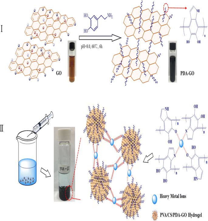 Polydopamine-functionalized graphene oxide compounded with ...