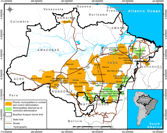 An overview of forest loss and restoration in the Brazilian Amazon ...