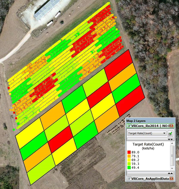Row-crop planter performance to support variable-rate seeding of ...