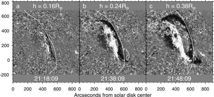 A Geoeffective Cme Caused By The Eruption Of A Quiescent Prominence On 29 September 2013 Springerlink
