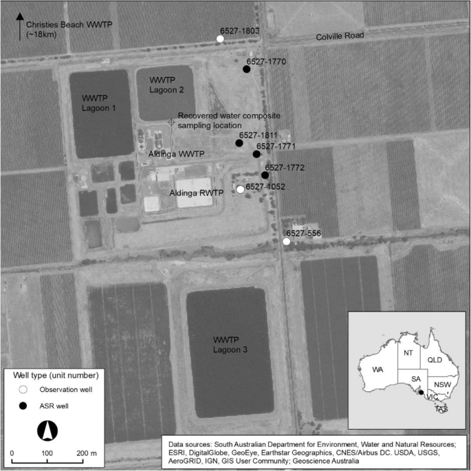 Nutrient Transformation And Removal From Treated Wastewater Recycled Via Aquifer Storage And Recovery Asr In A Carbonate Aquifer Springerlink