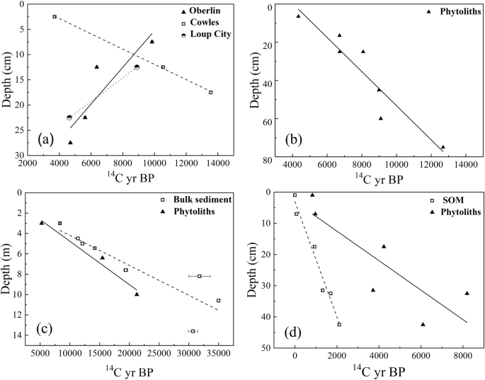 A review of carbon isotopes of phytoliths: implications for ...