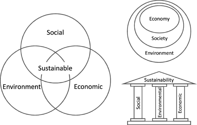 Three pillars of sustainability: in search of conceptual origins ...