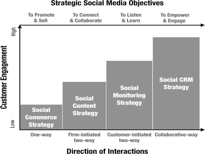 Social media marketing strategy: definition, conceptualization ...