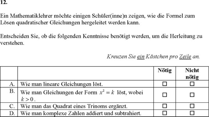 Erfassung der fachspezifischen Qualitt von Mathematikunterricht ...